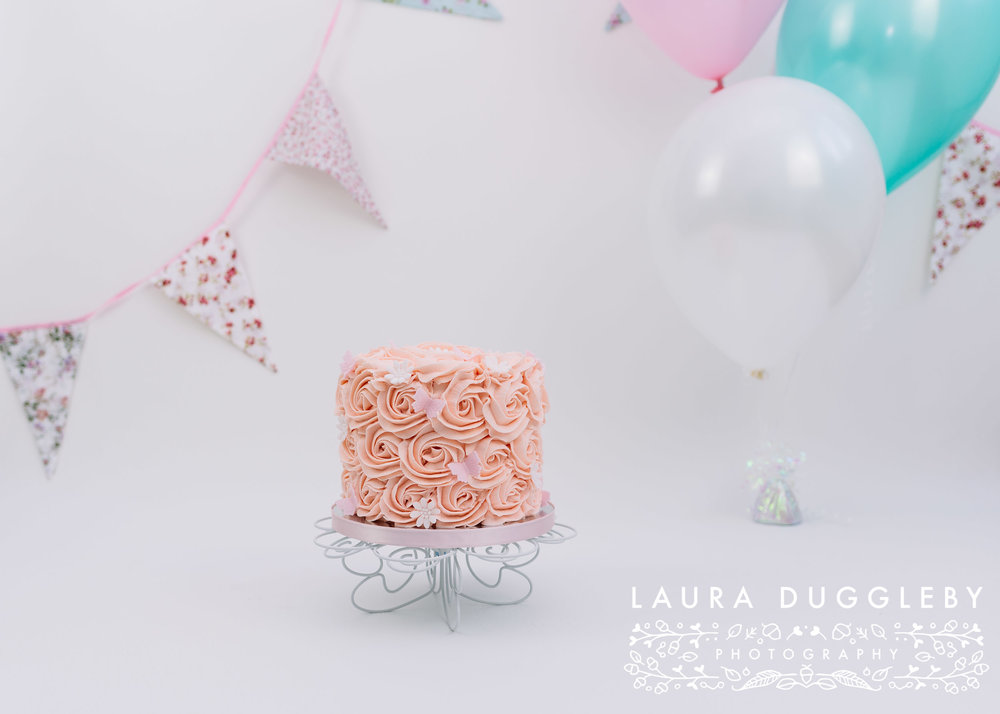 cake smash photography lancashire