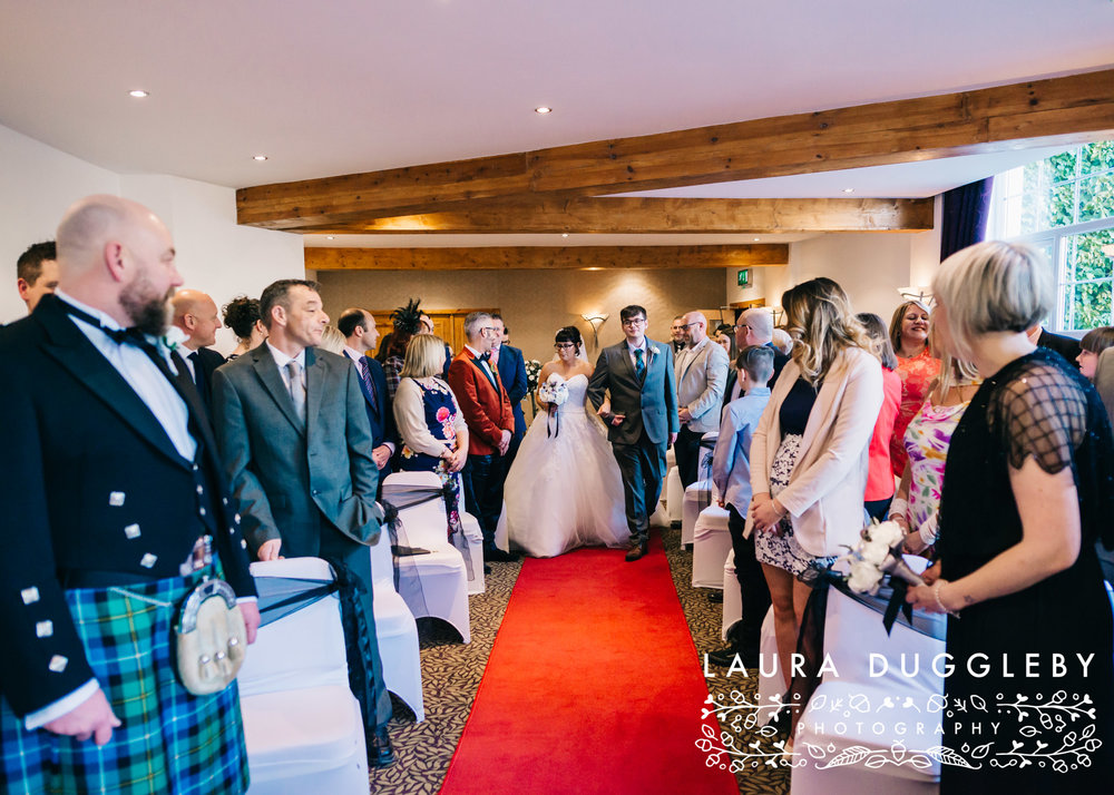 rossendale wedding photographer - winter wedding at the old mill hotel ramsbottom
