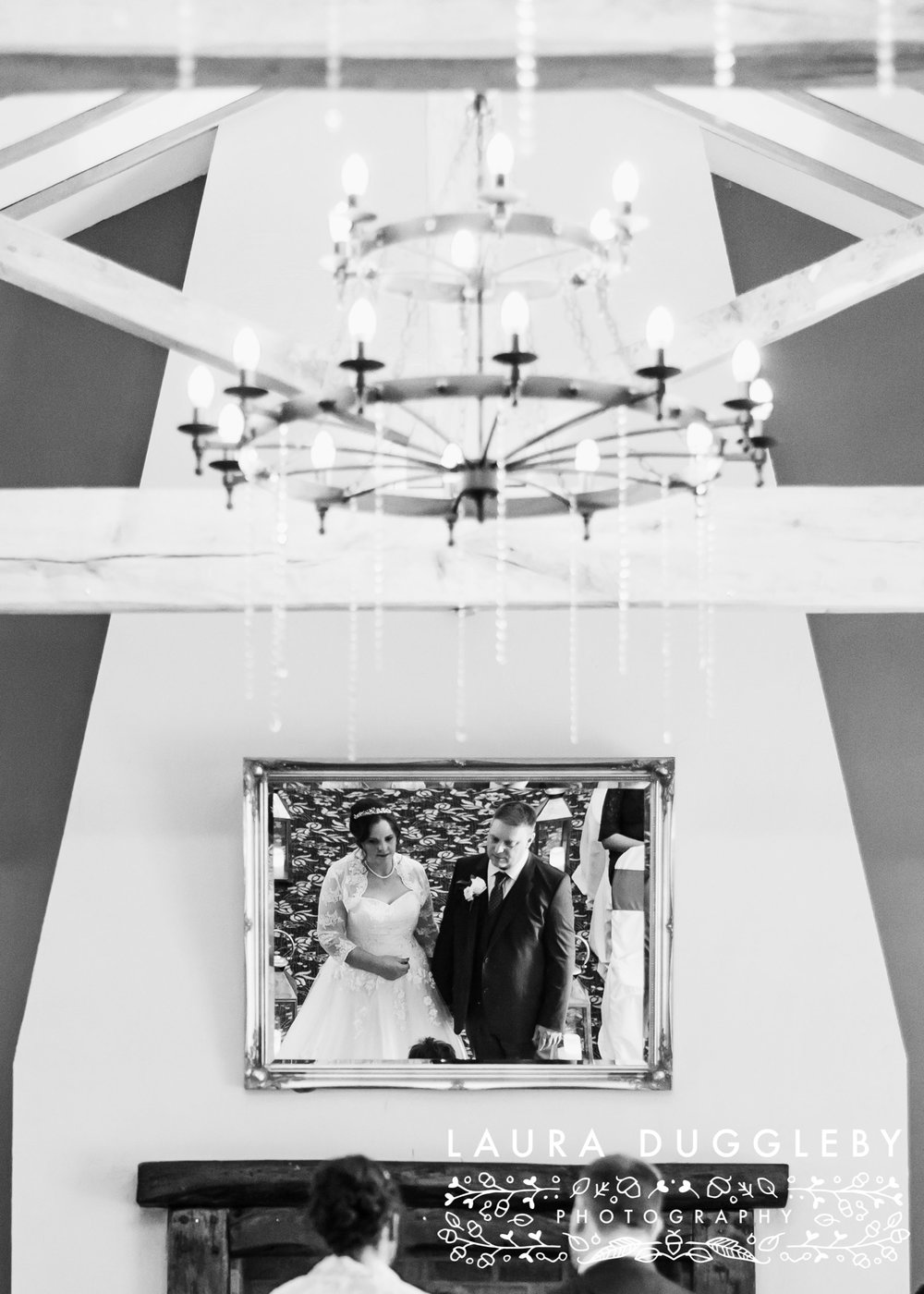 The Villa Hotel - Wrea Green Lancashire Wedding Photographer11