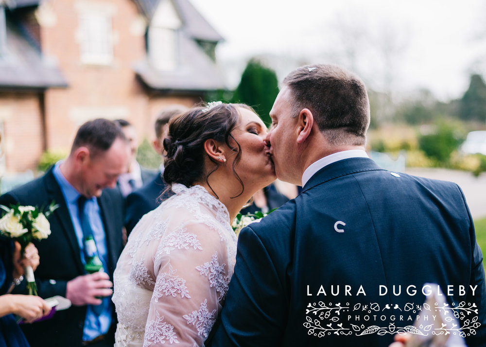 The Villa Hotel - Wrea Green Lancashire Wedding Photographer13