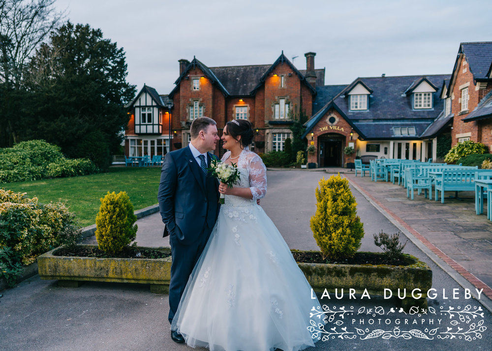 The Villa Hotel - Wrea Green Lancashire Wedding Photographer16