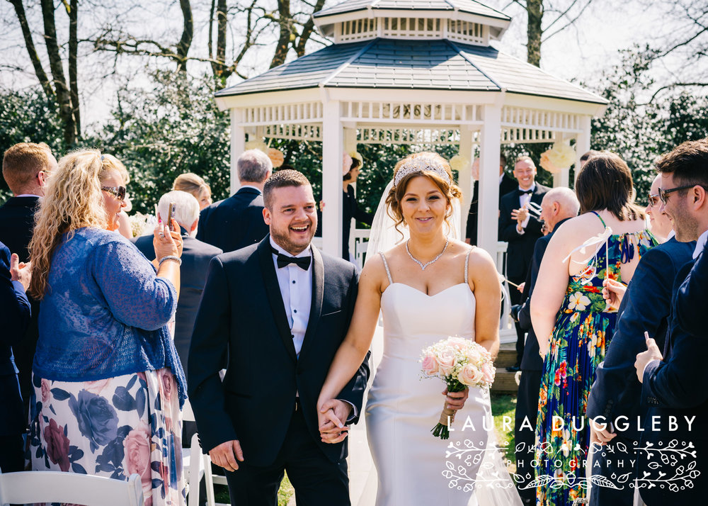 Higher Trapp Hotel Wedding, Ribble Valley Wedding Photographer9