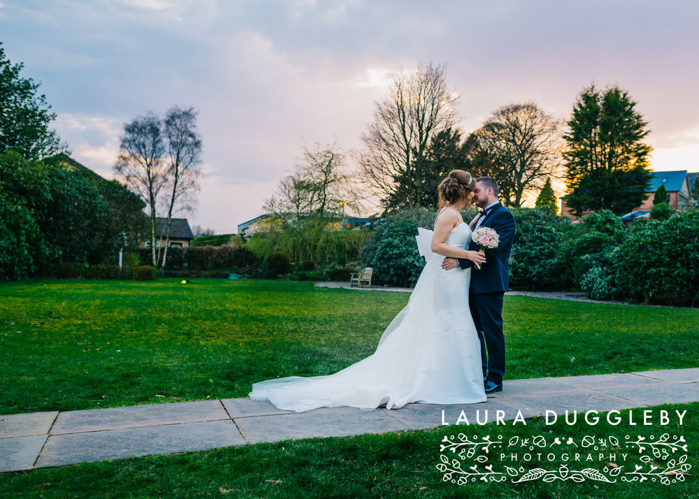 Higher Trapp Hotel Wedding, Ribble Valley Wedding Photographer20