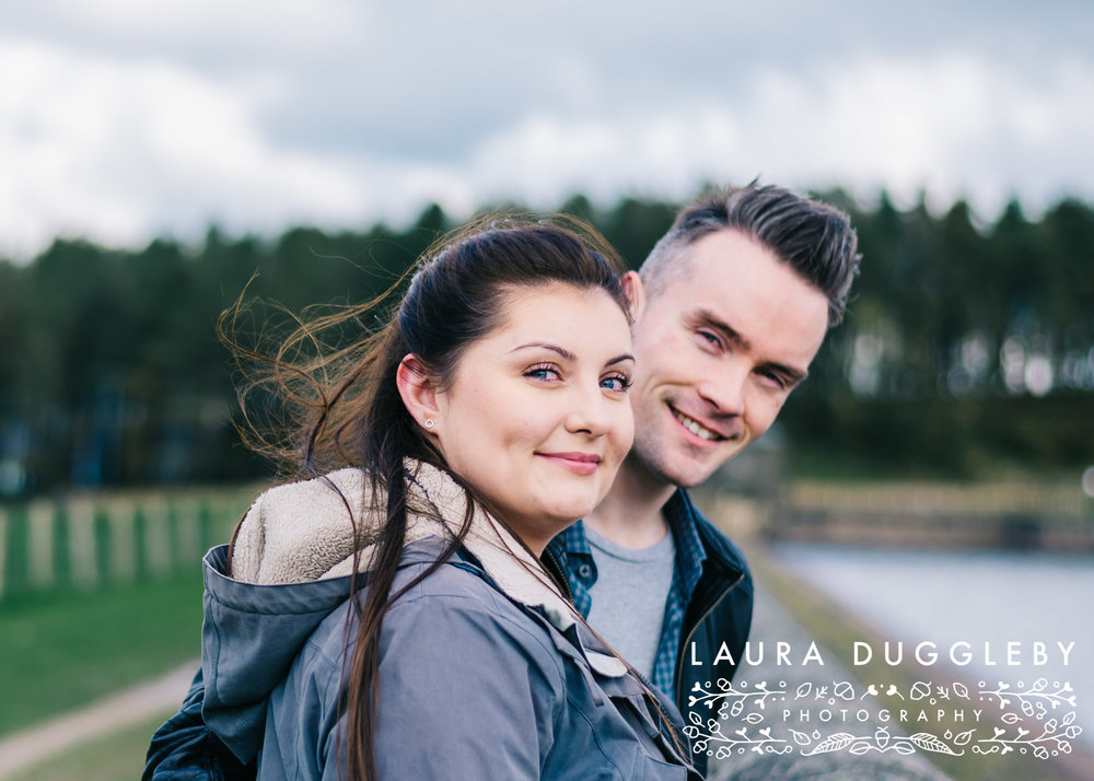 Hurstwood Reservoir Engagement Shoot - Ribble Valley Wedding Photographer2