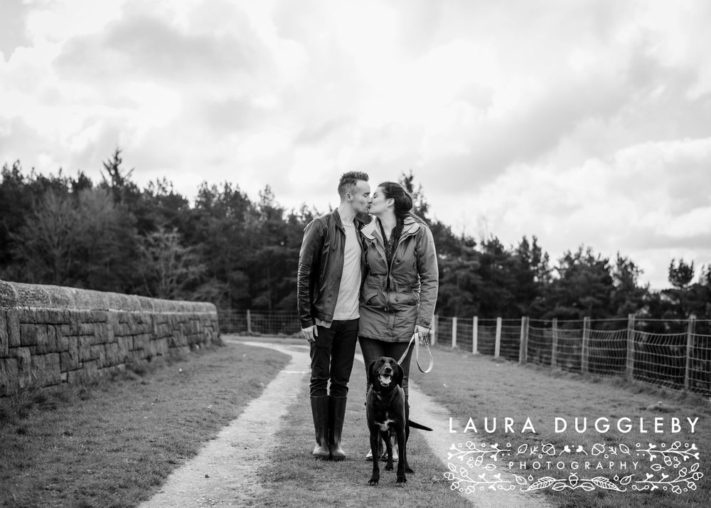 Hurstwood Reservoir Engagement Shoot - Ribble Valley Wedding Photographer11