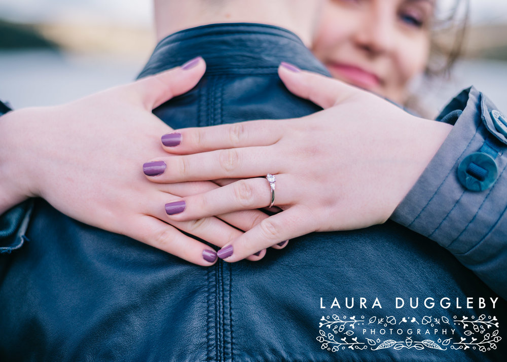 Hurstwood Reservoir Engagement Shoot - Ribble Valley Wedding Photographer6