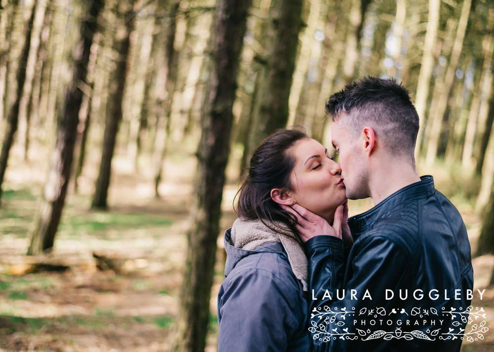 Hurstwood Reservoir Engagement Shoot - Ribble Valley Wedding Photographer9