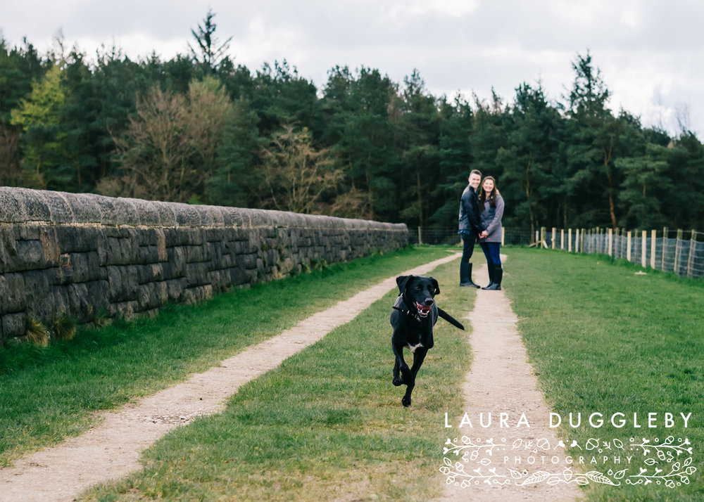 Hurstwood Reservoir Engagement Shoot - Ribble Valley Wedding Photographer10