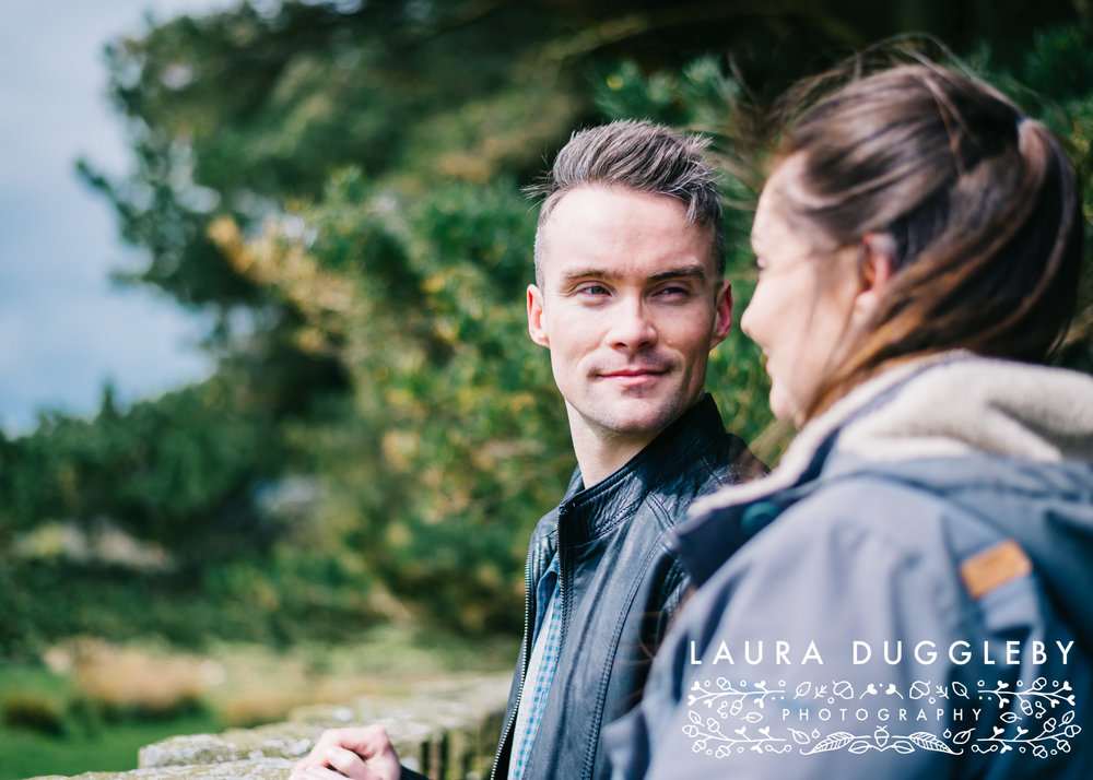 Hurstwood Reservoir Engagement Shoot - Ribble Valley Wedding Photographer12