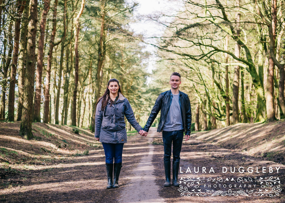 Hurstwood Reservoir Engagement Shoot - Ribble Valley Wedding Photographer13