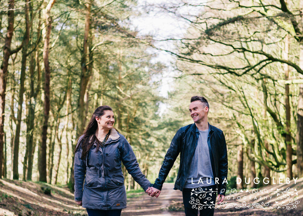 Hurstwood Reservoir Engagement Shoot - Ribble Valley Wedding Photographer15
