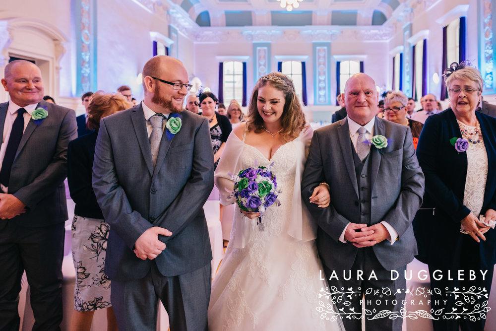 Accrington Town Hall Wedding Photographer7