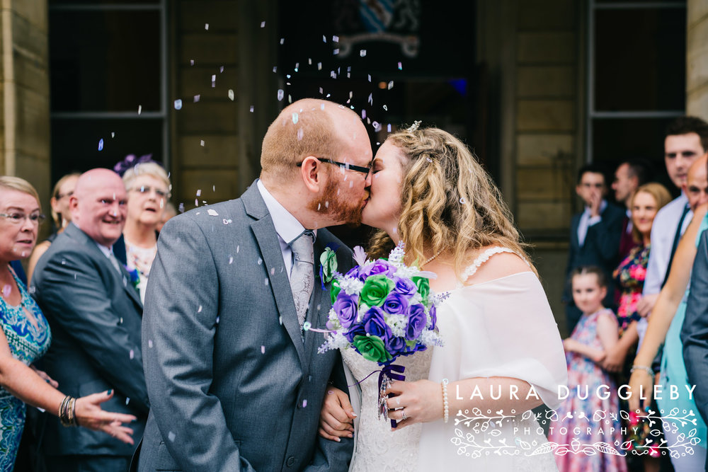 The Ballroom At Accrington Town Hall Wedding - Lancashire Wedding Photographer2