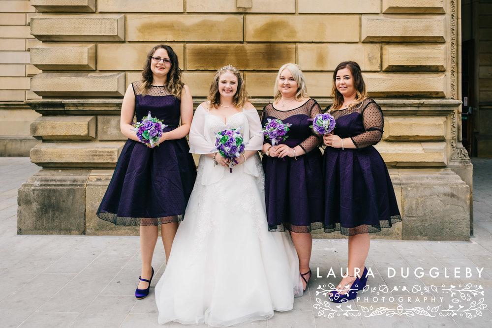 The Ballroom At Accrington Town Hall Wedding - Lancashire Wedding Photographer3