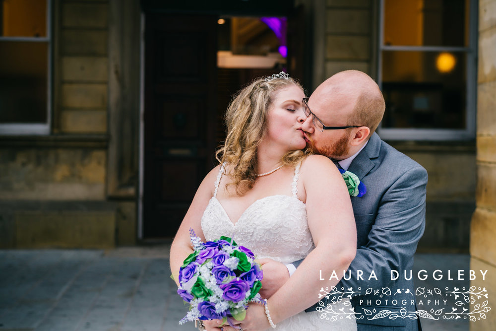 The Ballroom At Accrington Town Hall Wedding - Lancashire Wedding Photographer8
