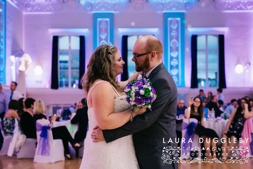 The Ballroom At Accrington Town Hall Wedding - Lancashire Wedding Photographer13