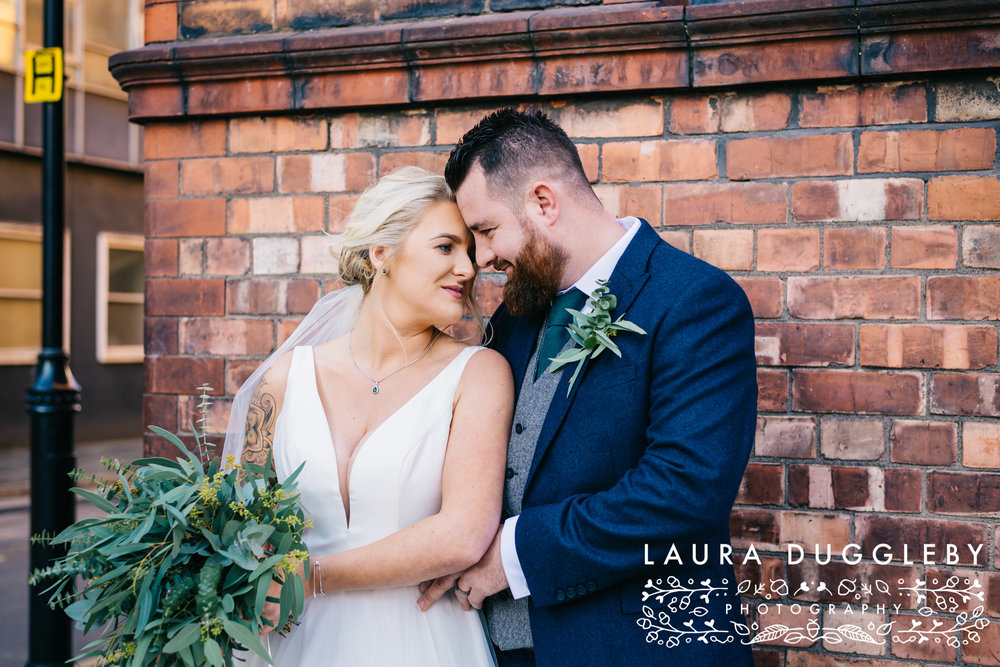 Manchester Wedding Photographer - Wedding At Great John Street Hotel8