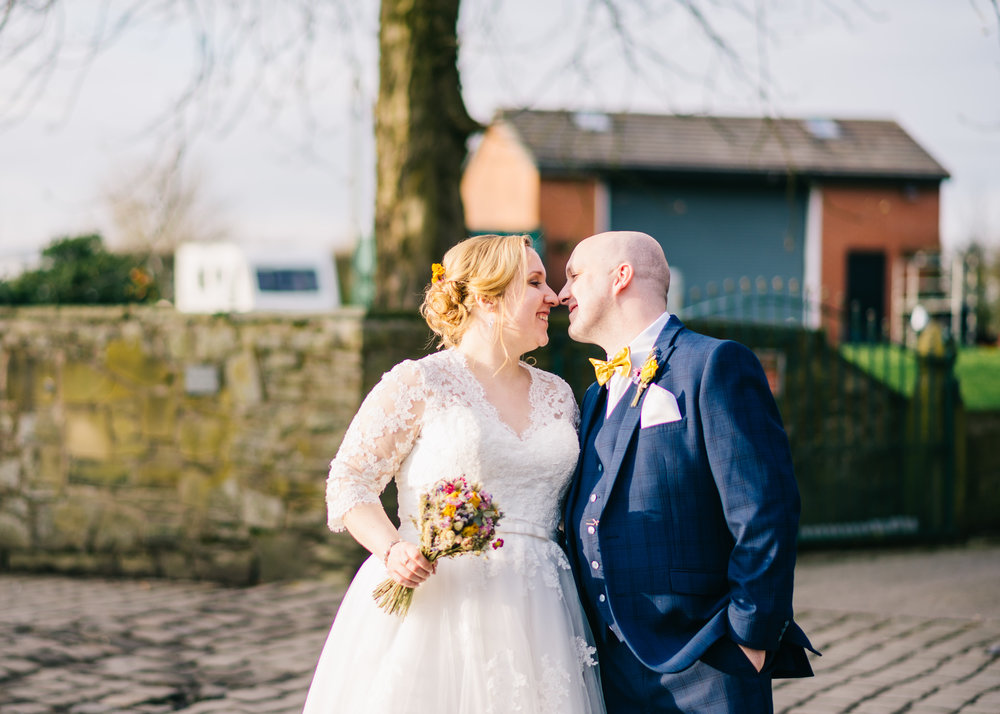 """Mick & Libby - """"We could not be happier with the service we received off Laura, from start to finish she was awesome, she was so laid back, she didn't rush us into anything. We would highly recommend her to anyone, you would not be disappointed. Thank you very much Laura, for making our wedding more special with your amazing photographs. Mick and Libby."""""""