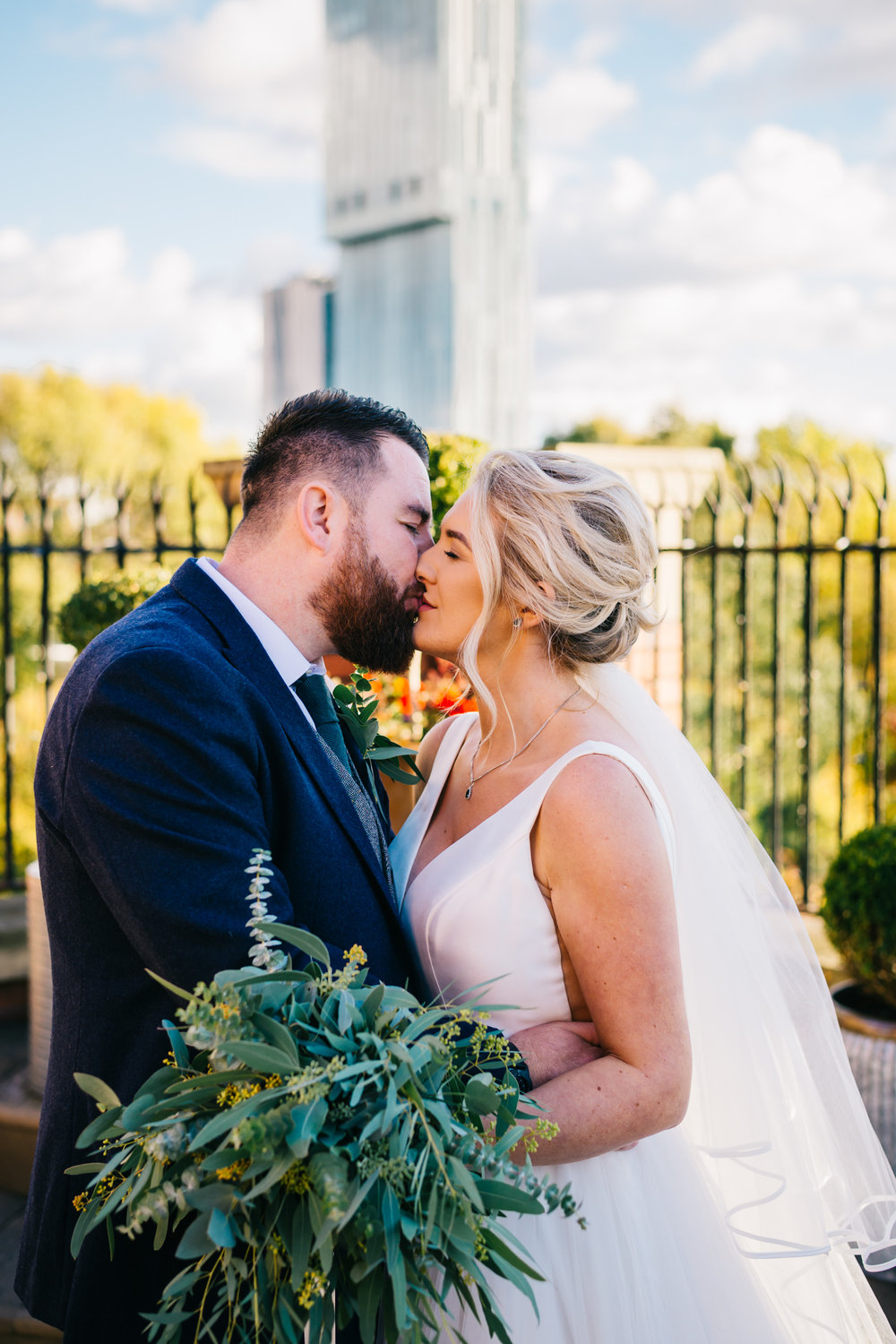 """Andrew & Charlotte - """"Absolutely over the moon with our wedding photos, Laura made us feel so at ease. We really felt like it was a friend taking our photographs.. the quality of the photos are beautiful and very natural.. we highly recommend laura if your looking for some natural and quirky photos.."""""""