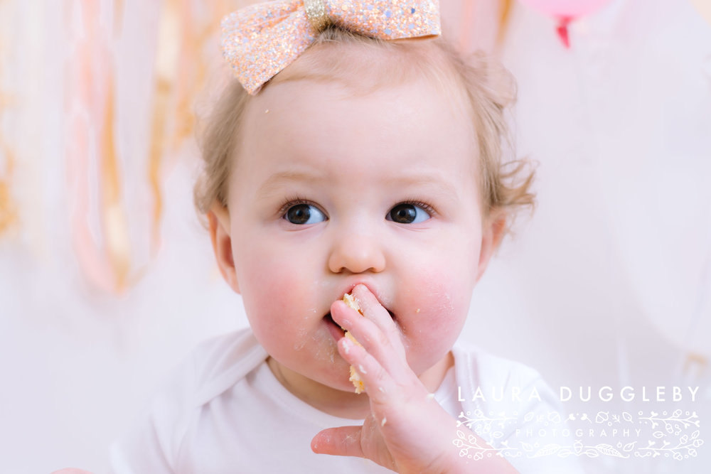 Rossendale Cake Smash Photography