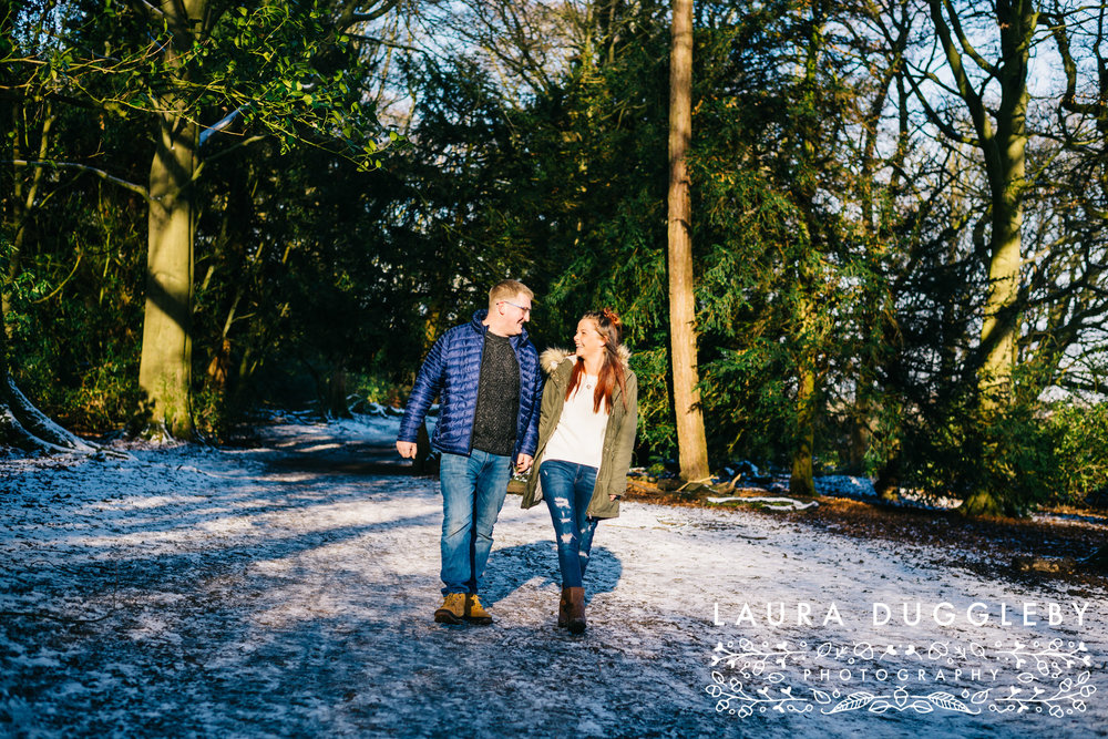 Engagement Shoot Towneley Park