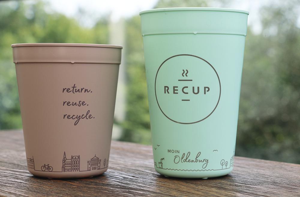 #4 OLDENBURG-RECUP MOIN Oldenburg, hallo Norden! Bei über 40 RECUP-Partnern kann man nun den Coffee-to-go im eigenen Oldenburg-RECUP genießen.