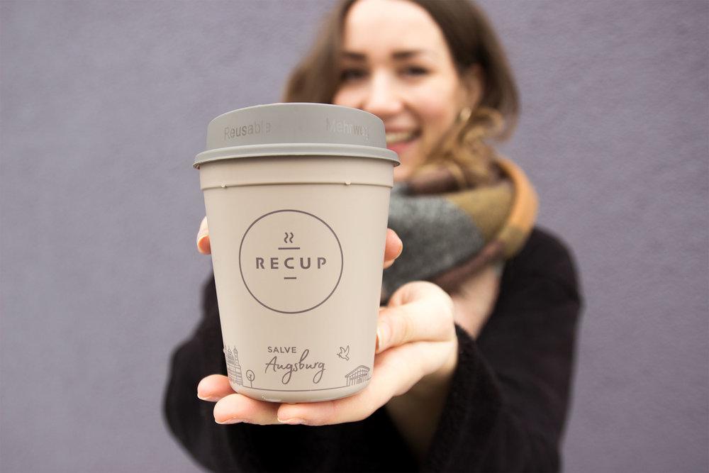 #10 AUGSBURG-RECUP  SALVE Augsburg! Ab jetzt trinkt auch die alte Römerstadt Coffee-to-go im Pfandbecher und wir freuen uns über viele neue Partner!