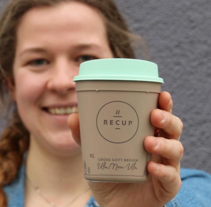 REGION ULM-RECUP  GRÜß GOTT Region Ulm! Ab jetzt trinkt auch die Region Ulm für ihr Karma und gegen Einwegmüll den Kaffee im RECUP. Schön, dass ihr dabei seid! #karmakaffee