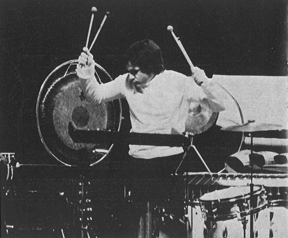 "SYLVIO GUALDA playing the percussion solo score of ""Aor"" (National Opera of Paris, music Igor Wakhevitch)"