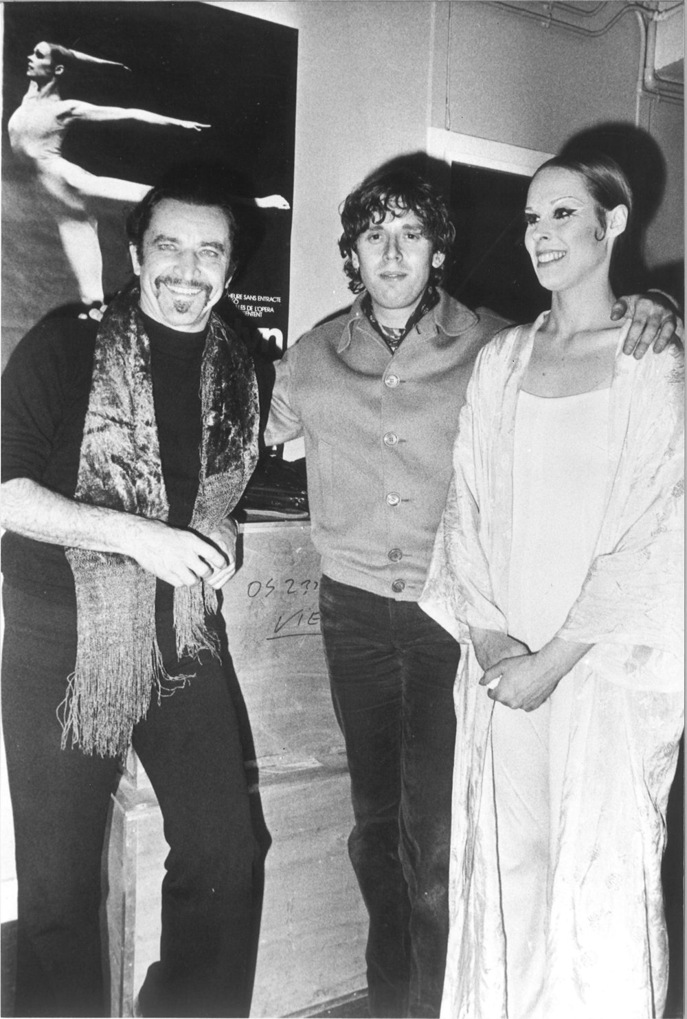 Mauric Béjart, Igor Wakhévitch, Carolyn Carlson.jpg
