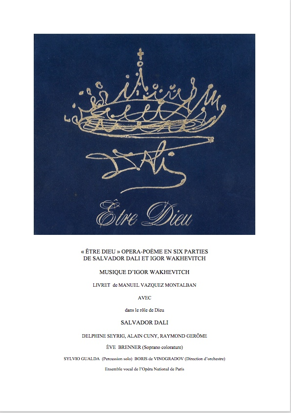 "Casting for ""Être Dieu"""