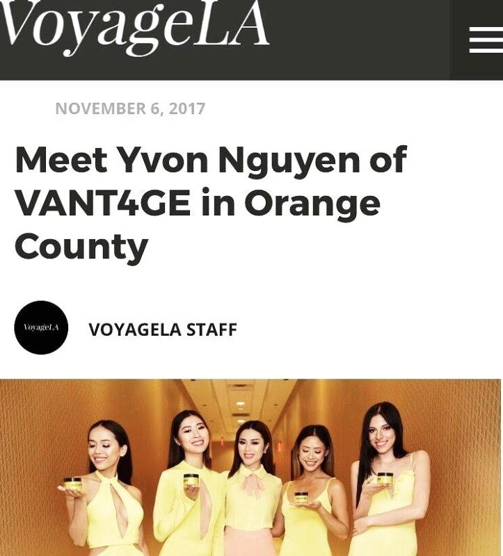 "VoyageLA - In 2016, I additionally launched a luxury, women's custom clothing line, Yvon Lux, which caters to ""profashionals"" and celebrates confidence, class, and curves. We are a made-to-order personal service unlike anywhere else. We serve busy professional women, influencers, and socialites throughout the US."