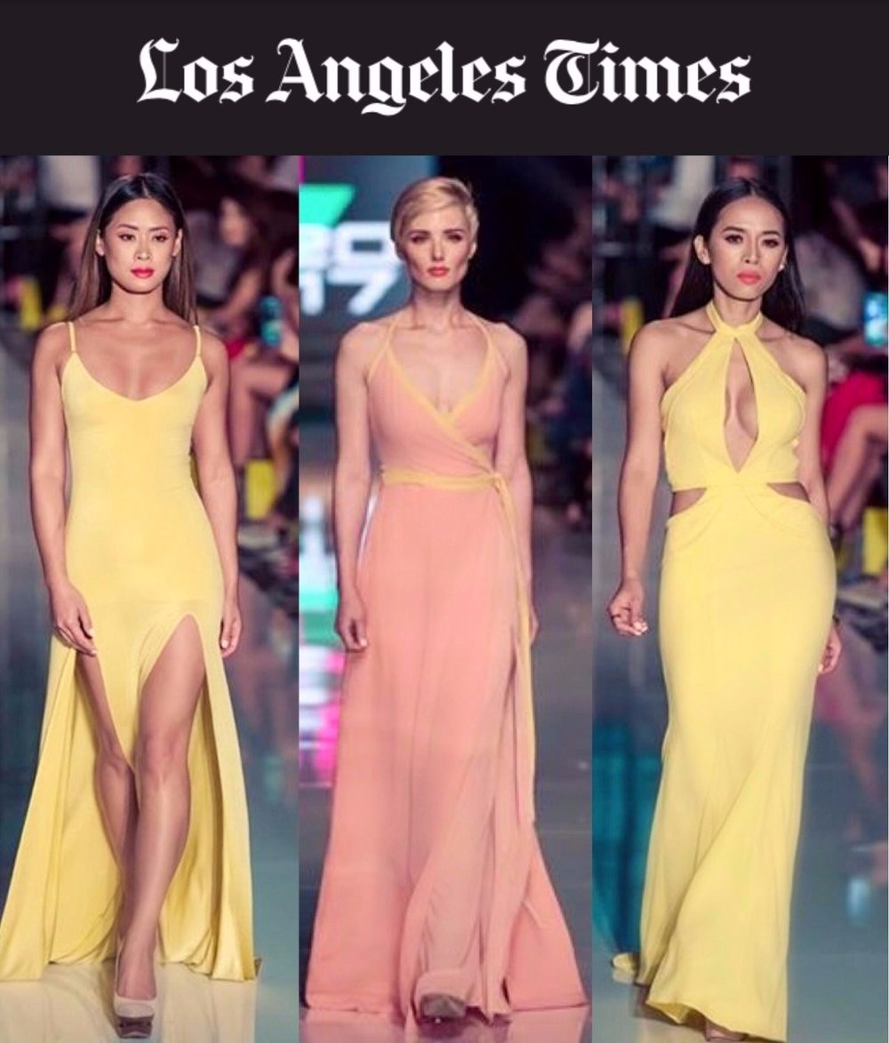 LA Times - Barely 5 feet tall, Nguyen, who heads a public relations and marketing firm in Anaheim, said she has always had trouble finding trendy, well-fitted business and special-occasion wear.