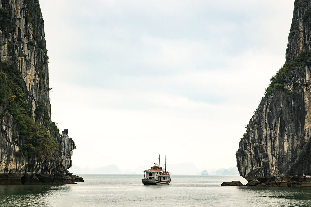 Ha Long Bay in Ha Noi, Vietnam