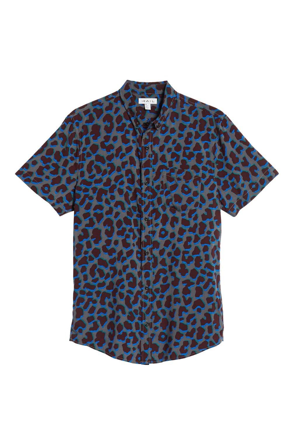 The Rail Blue Burgundy Leopard Print Shirt.jpeg
