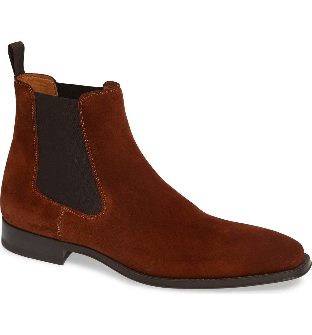 Magnanni Cognac Velvet Chelsea Boot.jpeg