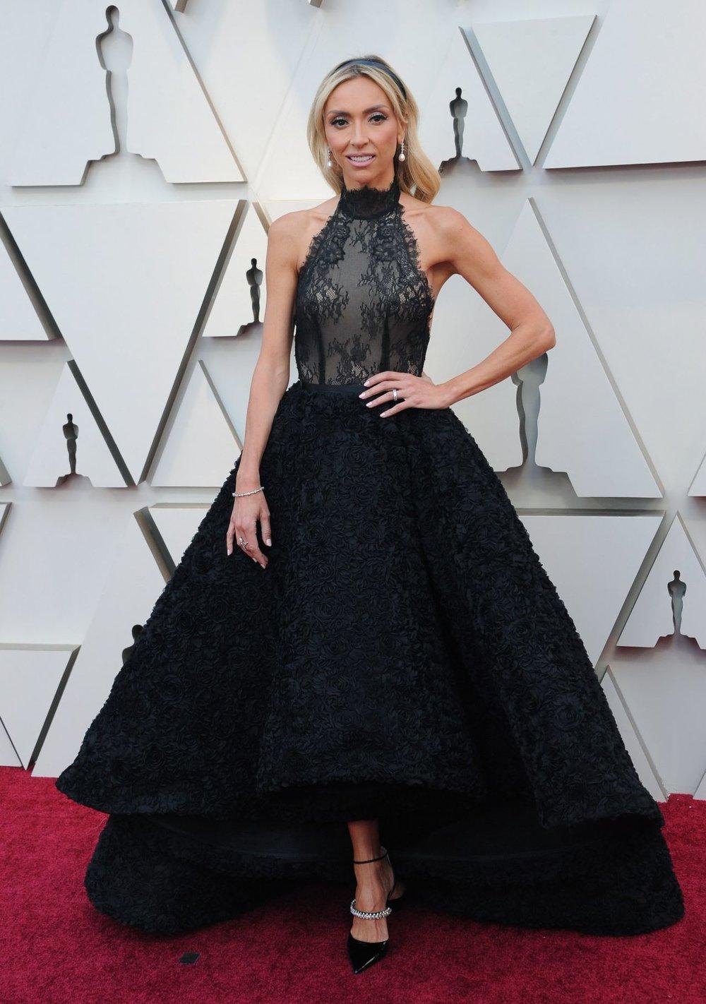 Giuliana Rancic at the Oscars 2019. Photo courtesy of Kelly NG.