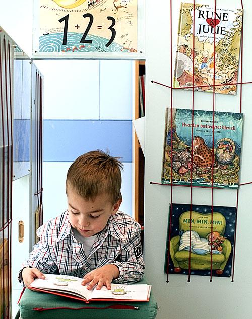 et vandrebibliotek - vandrer i Herlev Kommunes børnehaverRum, leg og læring