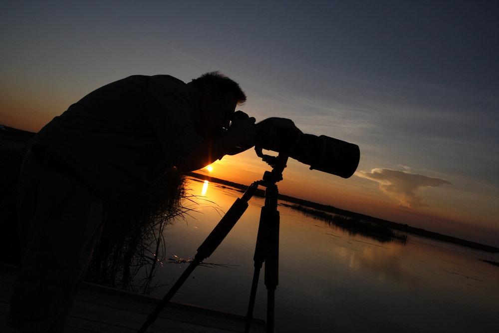 sunset with camera.JPG