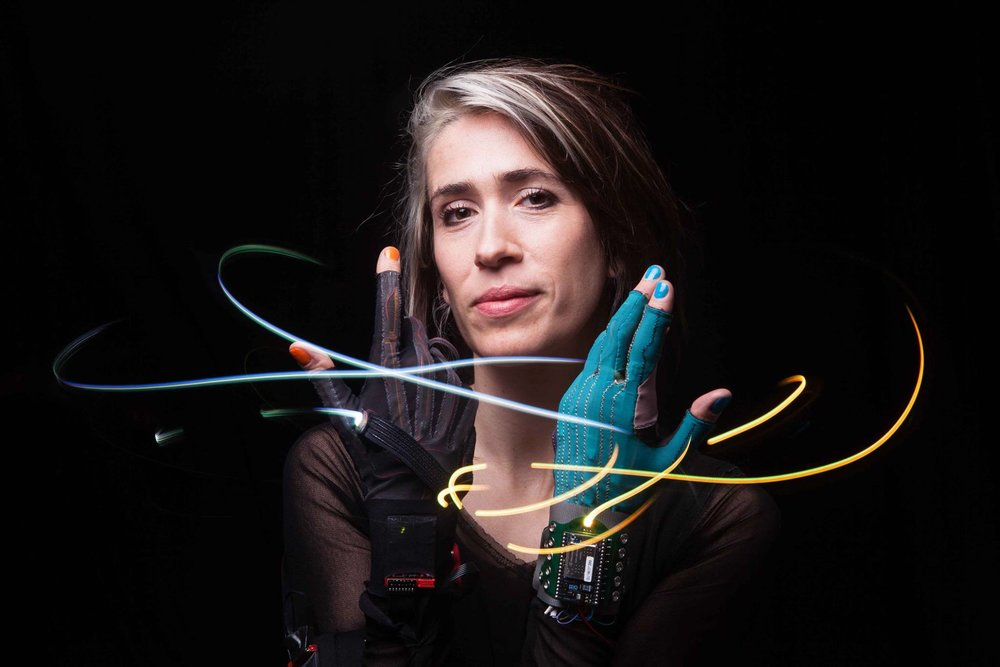 Imogen Heap   Grammy and Ivor Novello award-winning artist, songwriter, composer and producer. Multi-disciplined tech-entrepreneur and founder of Mycelia, an organisation committed to enforcing smart contracts for artists to share music via blockchain-based technology.