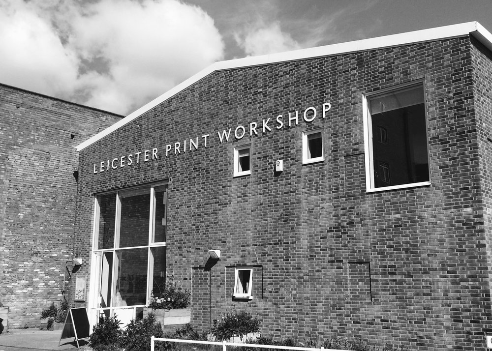 LEICESTER PRINT WORKSHOP, 50 ST GEORGES STREET, LE1 1QG
