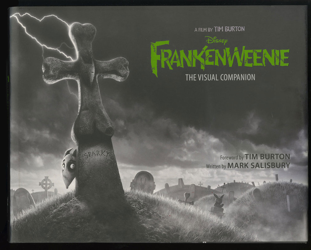 Frankenweenie:The Visual Companion - Editor, Photographer© 2013 Disney Enterprises, Inc.http://www.parkablogs.com/content/book-review-frankenweenie-visual-companion