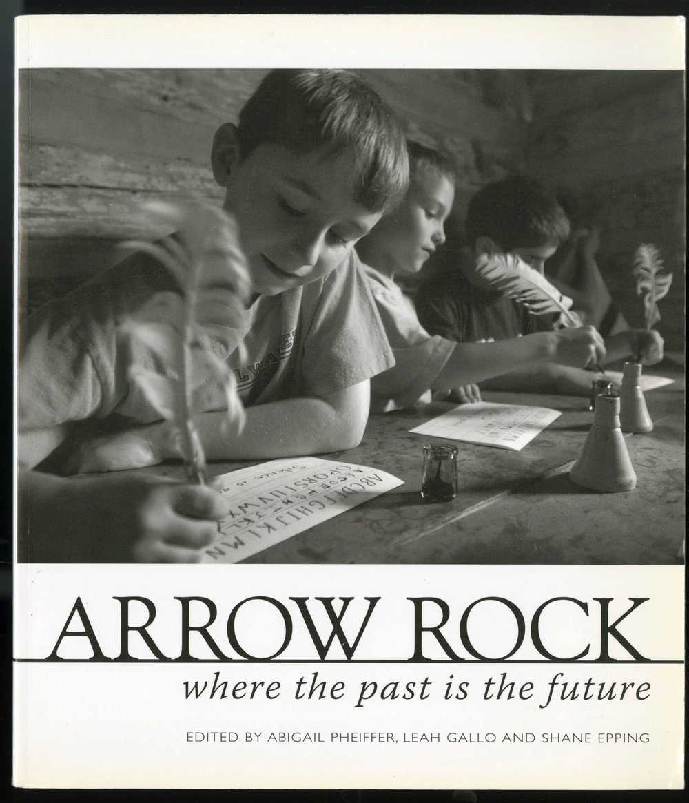 Arrow Rock: Where The Past Is The Future - Picture Editor, Designer, Contributing Photographer & Story© 2008 Abigail Pheiffer, Leah Gallo, Shane Epping, Rita Reed2010 Osmund Overby Award WinnerClay's Story (by Leah Gallo) https://journalism.missouri.edu/2010/03/missouri-school-of-journalism-book-on-arrow-rock-wins-the-prestigious-2010-osmund-overby-award/