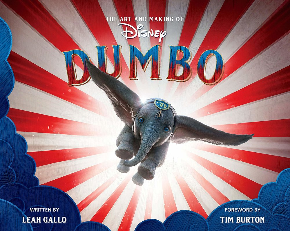 The Art and Making of Dumbo - Writer, Editor, Contributing Photographer© 2019 Walt Disney Pictureshttps://www.amazon.com/gp/product/1368024416?pf_rd_p=1cac67ce-697a-47be-b2f5-9ae91aab54f2&pf_rd_r=Y9TMKEDHBBVYFENFN7J2