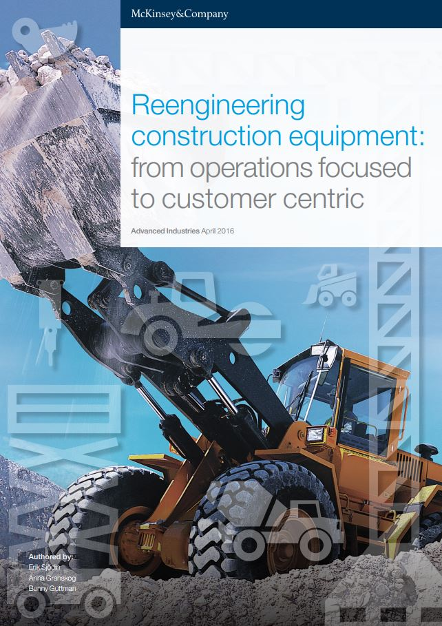 McKinsey & CompanyReengineering Construction Equipment -