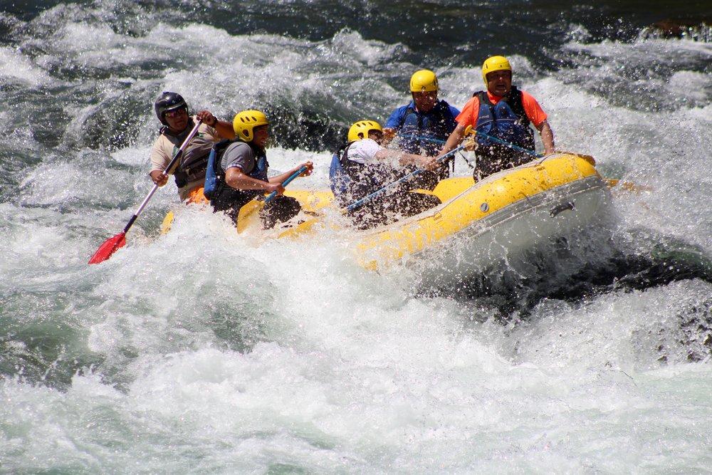 Imagen: Rafting Rio ÑubleOtro Aire Aventura