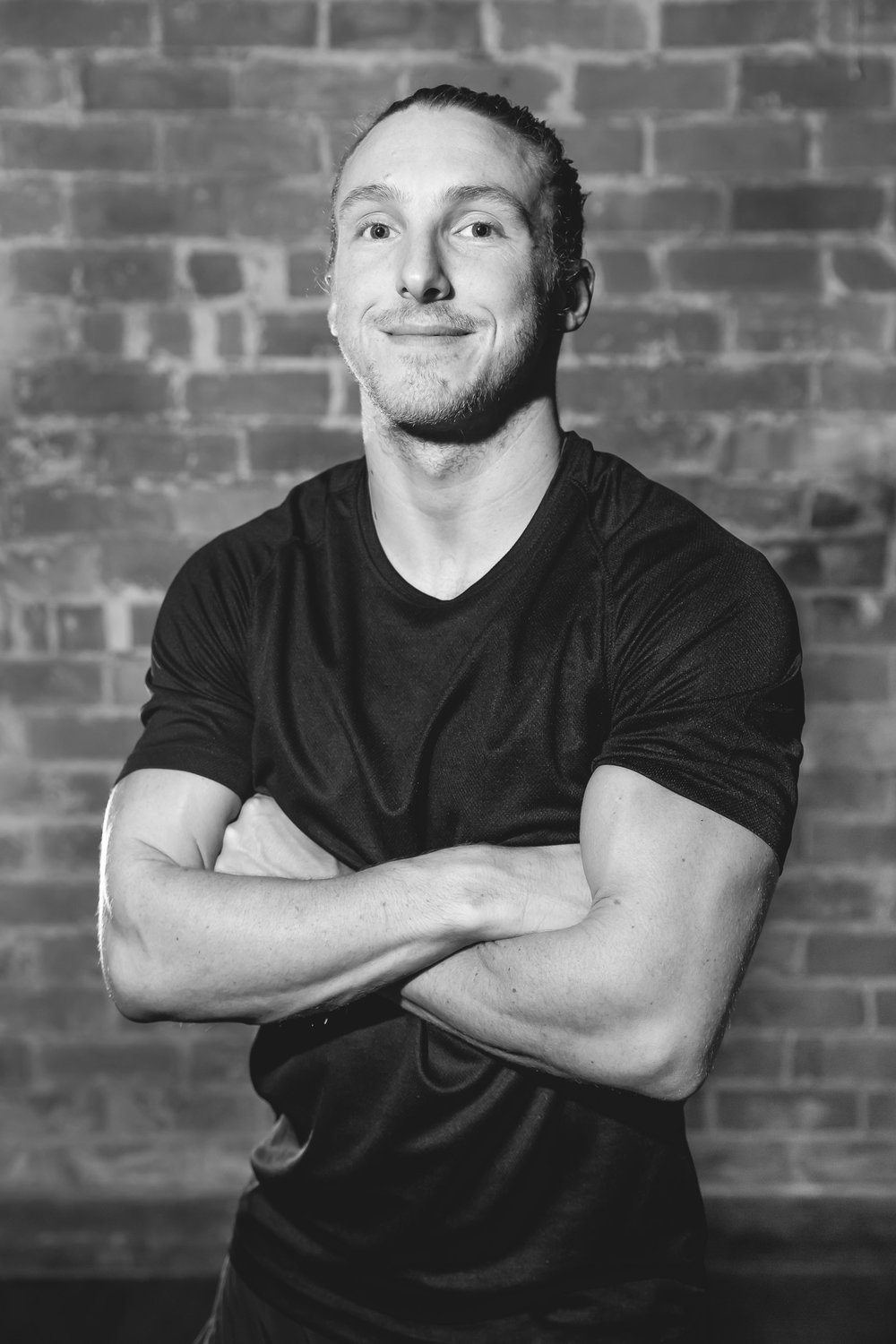 """Andy  is notorious in Bath for ensuring everyone absolutely smashes their workout, every time.  Famous for saying """"oxygen is your best friend"""" and keeping you moving and working hard when you really don't think you can. He believes you shouldn't show up because you have to but because you can!  All he expects is your best."""