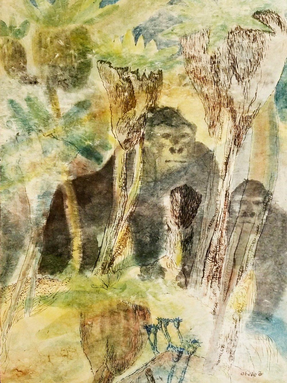 Gorillas im Hochland vom Kongo / Gorillas in the Highlands of Congo