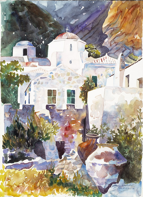 monemvasia by ann welch.JPG