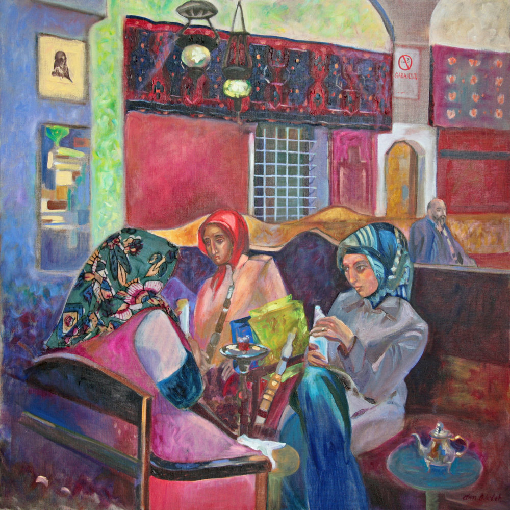 oil on linen lady who lunch by ann welch.JPG